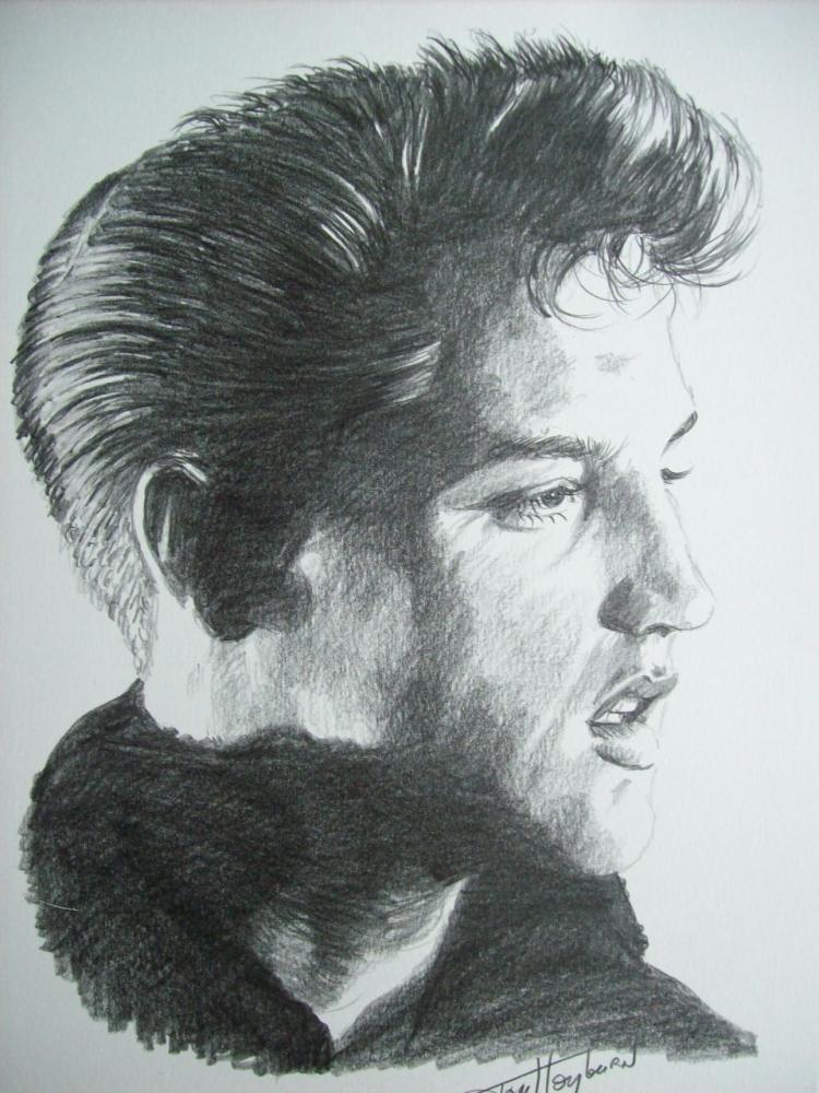 Elvis Presley by Tom-Heyburn